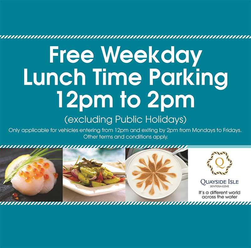 Free Lunchtime Parking